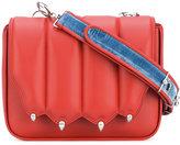 Marco De Vincenzo paw flap crossbody bag