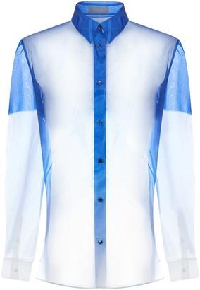 Christian Dior Gradient Pleated Shirt