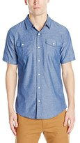 Burnside Men's Randall Short Sleeve Woven Shirt