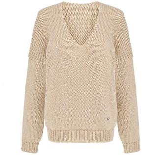 You By Tokarska Soft V-Neck Sweater Mia Beige