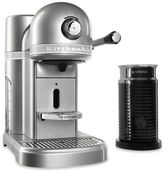 Nespresso by Kitchenaid® with Milk Frother in Pearl Silver
