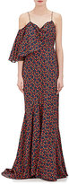 Zac Posen WOMEN'S FLORAL COTTON MAXI DRESS