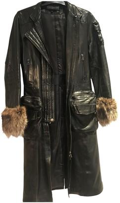 Ventcouvert Black Leather Coats