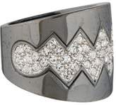Eddie Borgo Crystal Bear Trap Ring