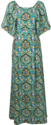 La DoubleJ geometric print dress