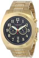 Akribos XXIV Men's AK624YG Ultimate Chronograph -tone Stainless Steel Pillow-cut Bracelet Watch