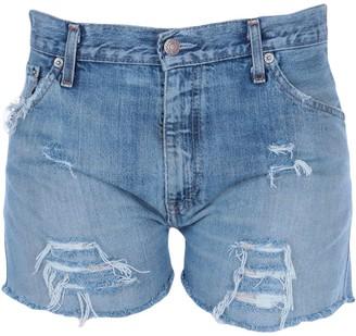 LEVI'S x CHIARA FERRAGNI Denim shorts