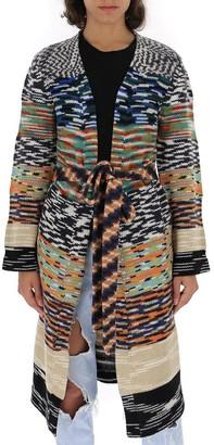 Missoni Contrasting Panelled Cardigan