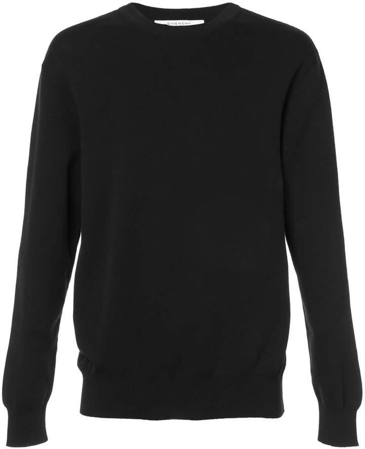 Givenchy fine rib sweatshirt