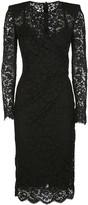 Dolce & Gabbana Black Silk And Cotton Dress