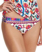 Nanette Lepore Antigua Charmer Strappy-Side Swim Bottom, Multi