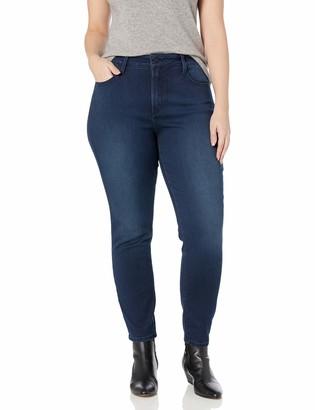 NYDJ Women's Plus Size Alina Skinny Jeans in Super Sculpt Denim