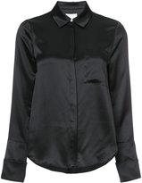 Cinq à Sept concealed front shirt