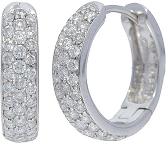 Nephora 14K 0.35 Ct. Tw. Diamond Huggie Earrings