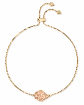Kendra Scott Theo Gold Adjustable Chain Bracelet in Sand Drusy