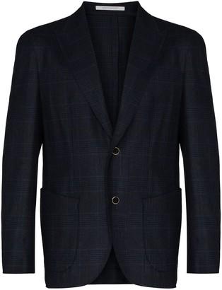 Eleventy Young checked blazer