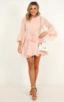 Showpo Slow me down dress in blush - 8 (S) Dresses