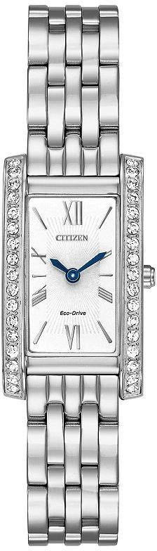 Citizen Womens Silver Tone Bracelet Watch-Ex1470-51a