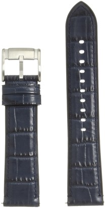Fossil S221341 22mm Leather Calfskin Watch Strap