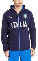 Puma Men's FIGC Italia Casual Performance Zip-Front Jacket