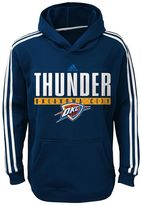 adidas Boys 8-20 Oklahoma City Thunder Playbook Hoodie