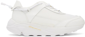 Comme des Garcons White Cross Trainer Sneakers
