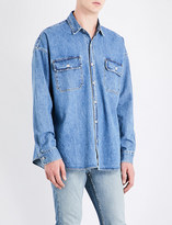 Fear Of God Fifth Collection oversized denim shirt