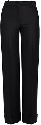 Marni Cuffed Straight-Leg Trousers