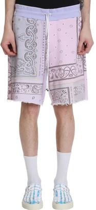 Amiri Shorts In Multicolor Cotton