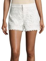 Parker Riley Embroidered Shorts