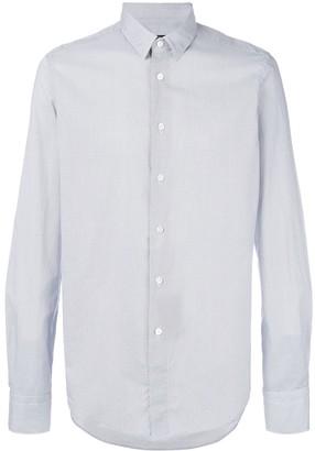 Dell'oglio micro dot print shirt