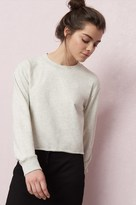 Garage Crop Cut-Off Sweatshirt
