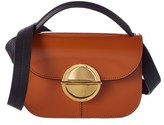 Marni Trunk Leather Shoulder Bag.