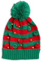 Collection 18 Striped Jingle Bell Hat