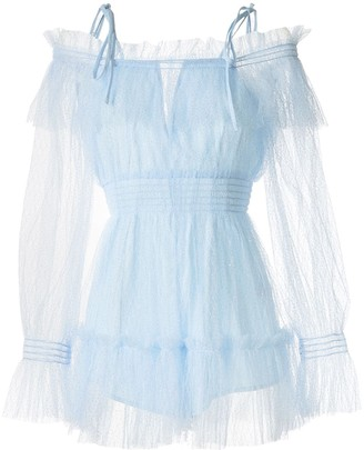 Alice McCall Crystal Skies playsuit