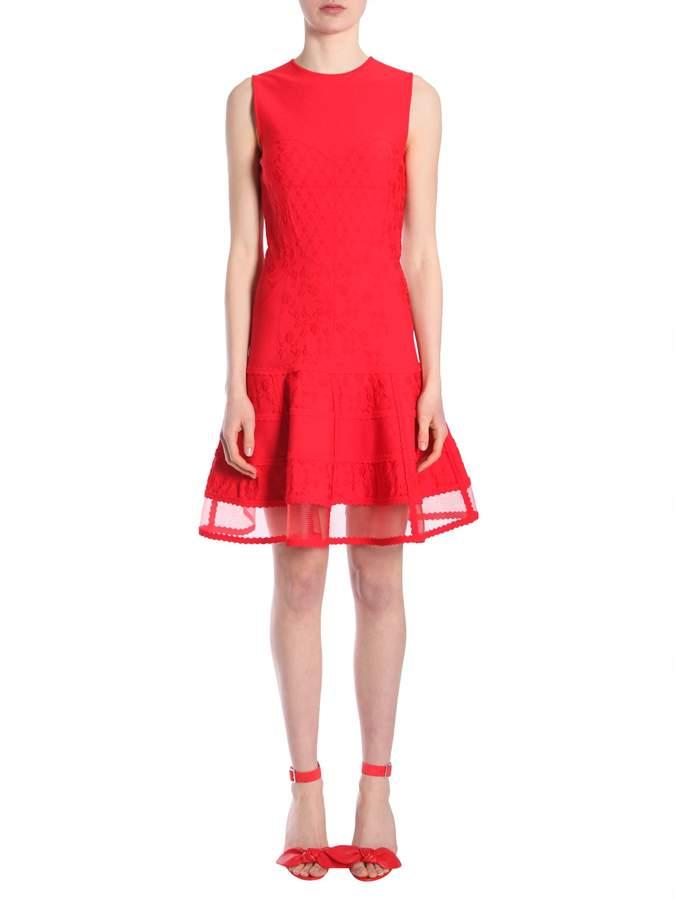 Alexander McQueen Sleevelss Mini Dress