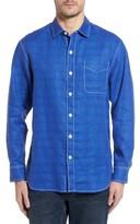 Tommy Bahama Men's Big & Tall Beachy Breezer Linen Blend Sport Shirt