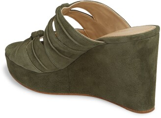 Etienne Aigner Desire Platform Wedge Sandal