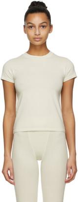 SKIMS Off-White Cotton T-Shirt