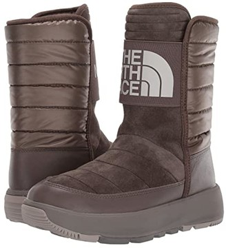 The North Face Ozone Park Winter Pull-On Boot (Shroom Brown/Vintage Khaki) Women's Cold Weather Boots