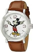 Disney Men's W001852 Mickey Mouse Analog Display Analog Quartz Watch