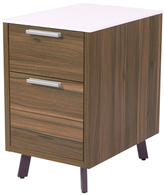 Euro Style Hart 2-Drawer File Cabinet