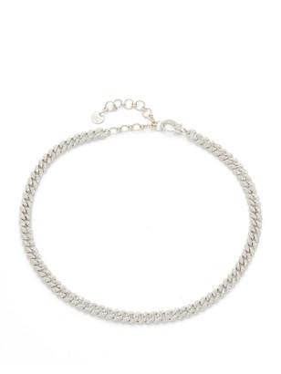 Shay 18k Mini Pave Link Choker Necklace