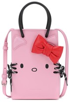 Balenciaga Hello Kitty leather phone pouch