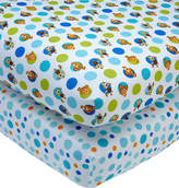 Disney Finding Nemo 100% Cotton 2-Pc. Fitted Crib Sheet Set