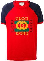 Gucci print T-shirt - men - Cotton - XS