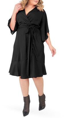 Standards & Practices Wrap Dress