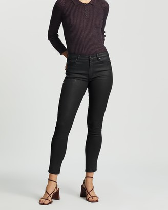 Mng Women's Black High-Waisted - Isa Jeans - Size 34 at The Iconic
