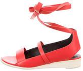 Tibi Ellison Lace-Up Sandals