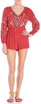 Angie Embroidered Romper